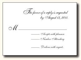 5 Types Of Wedding Rsvp Card Wording Paperblog
