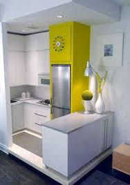 apartment kitchen design: dapur belakang teeny apartment kitchen just great what you can do with such a