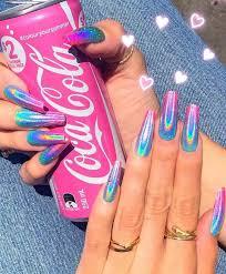 Pink Nail Designs Tumblr Dripping Glam Tumblr