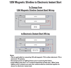 instant start ballast wiring diagram instant automotive wiring universal f96t12 1 2 lamp electronic ballast 120