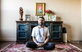 yoga instructor and his tech designer rade create science of self app