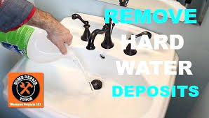 remove hard water stains from sink remove hard water deposits remove hard water stains from copper