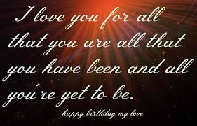 Birthday Love Quotes Awesome Happy Birthday Love Quotes Birthday Love Quotes 48 Happy Birthday