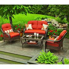 patio furniture sets walmart. Replacement Cushions For Azalea Ridge Set - BEIGE Patio Furniture Sets Walmart C