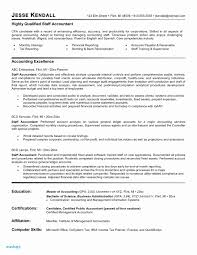 Accountant Resume Examples Elegant Staff Accountant Resume Examples