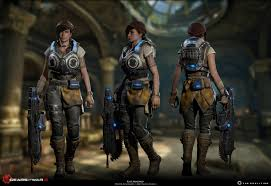 Gears of War 4 - Kait [building thread ...