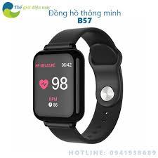 SIÊU SALL ] [Mã ELMSHX hoàn 8% xu đơn 500K] Đồng hồ thông minh B57 chống  nước, theo dõi sức khỏe - Shop Thế giới điện m