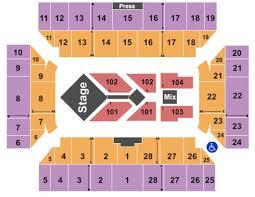 Floyd L Maines Veterans Memorial Arena Seating Chart Floyd L Maines Veterans Memorial Arena Tickets Seating