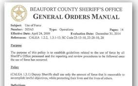 beaufort county sheriff s office provides redacted procedures for beaufort county sheriff s office provides redacted procedures for traffic stops island packet