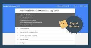 My Report How To Report Reviews For Google Business Page Online