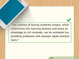 the best way to write a problem statement example  image titled write a problem statement step 8