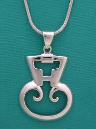 to enlarge petroglyph taino pendant