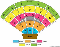 Cricket Wireless Amphitheater Chula Vista Seating Chart North Island Credit Union Amphitheatre Tickets Seating