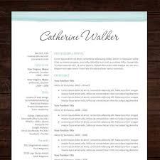 beautiful professional resume template design cover letter ms word instant download blue resume design templates ideas pinterest free cover letter for microsoft