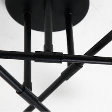 Zzatt Deckenleuchte Nordic Modern Deckenlampe E27 6