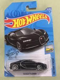 Unas carreritas entre dos grandes, bugatti chiron y bugatti divo se enfrentan en un mano a mano a ganar 2 de 3 carreras, ninguno de los dos quiere perder y v. Hot Wheels Bugatti Chiron Black Toys Games Bricks Figurines On Carousell