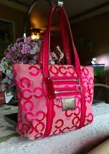 coach poppy op art medium orange ivory crossbody bags dxj best price  coach  poppy glam op art large tote shoulder handbag purse 14530 euc