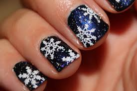12 Awesome Inspiring Of Winter Acrylic Nail Art Designs 2016 ...