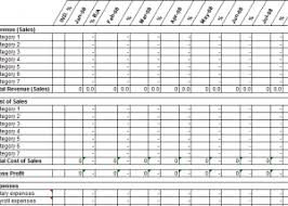 cost forecasting template 12 month profit and loss projection template my excel templates