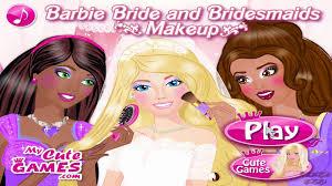 barbie bride and bridemaids makeup barbie games barbie wedding make up tutorial game video dailymotion