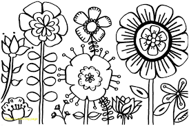 Flower Coloring Pages Save Spring Flowers Printable S Good With Of 1