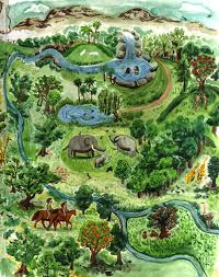 Small Picture Garden Of Eden Garden of Eden Map Garden of Eden Pinterest