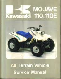 kawasaki klf110 mojave manual 1987 atv repair manuals online used 1987 kawasaki klf110 b1 mojave 110e and 1987 kawasaki klf110 a1 mojave 110