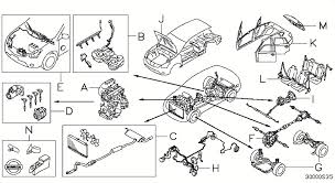 similiar nissan juke seat exploded view keywords front roof floor j body side rear k seat seat belt l body back door