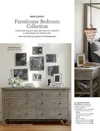 new classic a farmhouse bedroom collection f simple detailing and a gray wash give this collection