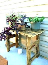 flower pot stands outdoor plant wood stand pallet plans wooden holders australia outd