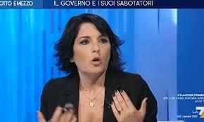Marianna Aprile a Otto e Mezzo zittisce Carofiglio:
