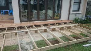 Wood Pool Deck Diy Timber Decking In Durban The Wood Joint