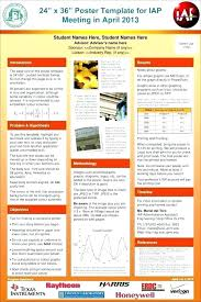 poster format powerpoint free scientific poster template exotic size academic