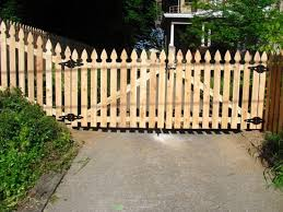 wood picket fence gate. Top How To Build A Picket Fence Double Gate Diy Pinterest Fences Wood