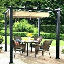 retractable shade canopy patio awning outdoor solutions manual garden sun cool pull down screen door
