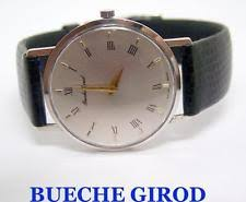 bueche girod wristwatches slim 18k white bueche girod winding watch c 1970s exlnt serviced rare