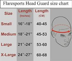 Boxing Head Guard Size Chart Flare Head Guard Helmet Boxing Mma Protection Gear Protector