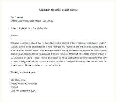 Transfer Certificate Request Letter To Principal Flowersheet Com