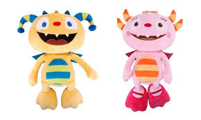 talking hugglemonster soft toy