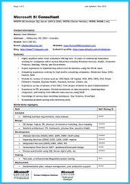 business intelligence consultant resume business intelligence consultant job description