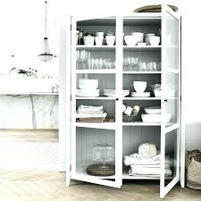 curio cabinet with glass door white china cabinet with glass doors white hutch with glass doors
