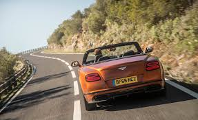 2018 bentley supersports convertible. contemporary convertible 2018 bentley continental supersports convertible test drive rear view  photo 34 of 66 to bentley supersports convertible