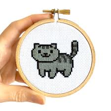 Cat Cross Stitch Patterns Inspiration Freebie Neko Atsume Cross Stitch Patterns Oh Plesiosaur