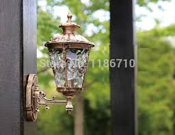 here high end waterproof outdoor wall lamp outdoor lighting wall lamps contains led bulb free
