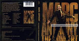 los mejores dvd de a y mas marc anthony the concert from madison square garden 2001