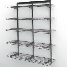 closetmaid wire shelf brackets great closetmaid shelf and rod
