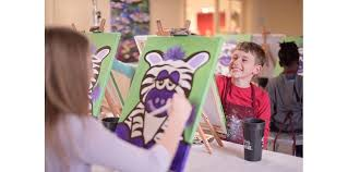 painting with a twist kids party