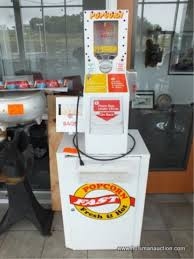 Popcorn Express Vending Machine Best VENDING POPCORN MACHINE COIN OPERATED HiBid Auctions