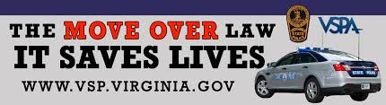 Image result for va move over law pic