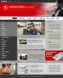 Website Template Newspaper Newspaper Templates Online Magdalene Project Org